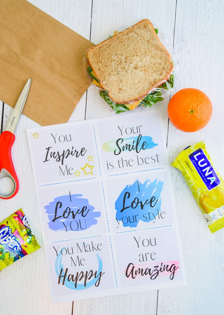 Make Someone Smile: Free Compliment Card Printables